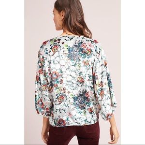 Anthropologie Tops - NWOT | Anthropologie Silk Blend Umi Wrap Blouse